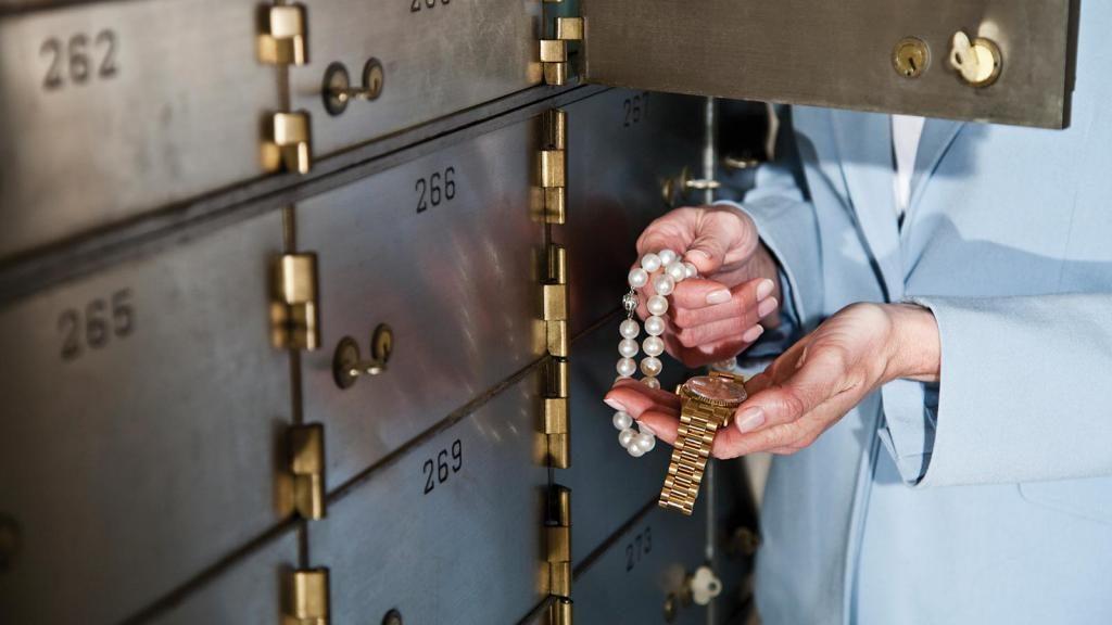 Банковские ячейки в Сбербанке