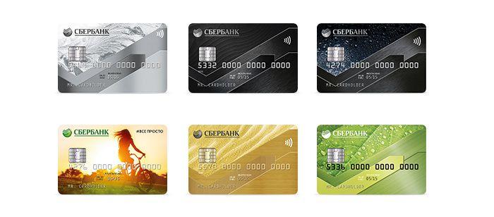 Виды дебетовых валютных карт Сбербанка